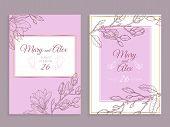 Magnolia Invitation. Modern Floral Wedding Invite. Elegant Graphic Flowers Bouquet Vintage Poster Fl poster