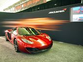 Mclaren C12 Sports Car On Display