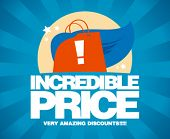 stock photo of incredible  - Incredible price - JPG