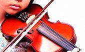 Playing Violin