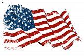 Grange USA Flag