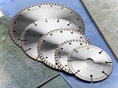 Diamond disks for cutting and abrasion