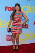 LOS ANGELES - SEP 12:  Jenna Ushkowitz arrives at the Glee 4th Season Premiere Screening at Paramoun
