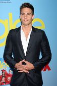 LOS ANGELES - SEP 12:  Dean Geyer arrives at the Glee 4th Season Premiere Screening at Paramount The
