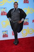 LOS ANGELES - SEP 12:  Alex Newell arrives at the Glee 4th Season Premiere Screening at Paramount Th