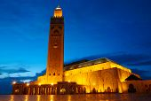 Mezquita de Hassan II en Casablanca, Marruecos África