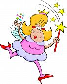 Cartoon fairy godmother