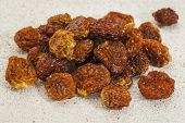 dried goldenberries (physalis peruviana) , superfruit from Peru rich in antioxidnats, vitamin A, bio