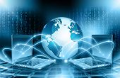 stock photo of globalization  - Best Internet Concept of global business from concepts series - JPG