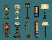Eight Lamps And Two Lanterns