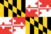 Flag of the American State of Maryland