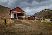 Abandoned School House in Old Mining Town
