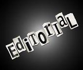 Concepto editorial.