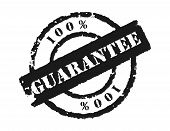 Stamp '100% Guarantee'