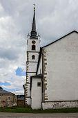 Catholic Church In Frymburk, Czech Republic.