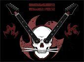 Rock N Roll Skull