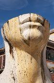 Rome, Tivoli Trento Square, Statue By Igor Mitoraj