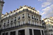 Paris-august 14-Building in Paris