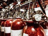 Large CO fire extinguishers