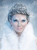 pic of snow queen  - Ice queen  - JPG