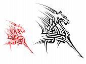 Tribal Horse Mascot