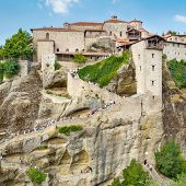 The Holy Monastery of Great Meteoron, Meteora, Thessaly, Greece