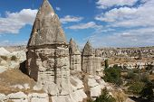 stock photo of goreme  - Cappadocia landscape near Goreme - JPG