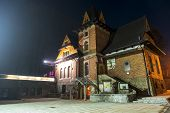 Dworzec Tatrzanski Club In Zakopane By Night