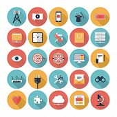 SEO en Web Icons Set