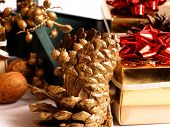 Pine Cones And Presents