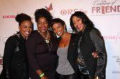 LOS ANGELES - NOV 21:  Shanola Hampton, Loretta Devine, Vanessa Bell Calloway, Robi Reed at the