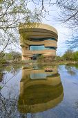 WASHINGTON, DC - APRIL 21, 2014: The National Museum of the American Indian. The Museum is dedicated