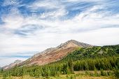 Highwood Pass Mountain Landscape