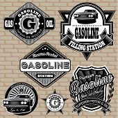 Set Of Labels On The Topic Gasoline