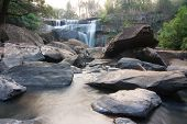 image of na  - Beautiful waterfall in Na haeo Loei Thailand - JPG