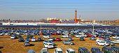 Technical avto-center Kuncevo In Moscow, Russia