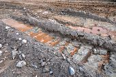 Mud Track, Mining