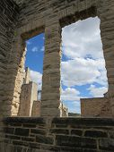 Window View in the Ruins
