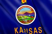 Flag Of Kansas (usa)
