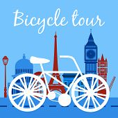 Bicycle tour poster