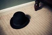 Bowler Hat On Floor