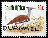Postage Stamp South Africa 1998 Kori Bustard, Bird
