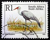 Postage Stamp South Africa 1993 Wattled Crane