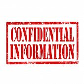Confidential Information-stamp