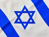 Stanted Israel Flag On Independence Day