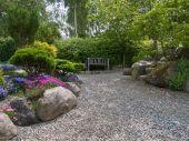 Beautiful Garden Romantic Seating Corner