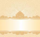 gentle peach wedding invitation background