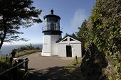 Lighthouse at Cape Meares, Oregon