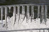 Icicles.