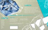 pic of priceless  - modern design for poster template with diamond element - JPG
